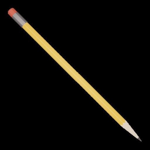 Pencil 1 - Sharpened 3D Model