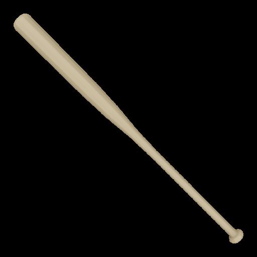 Baseball Bat Wood 1 3D Model