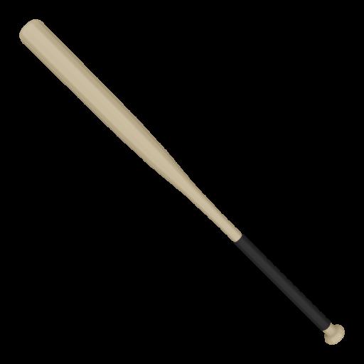 Baseball Bat Wood 2 3D Model