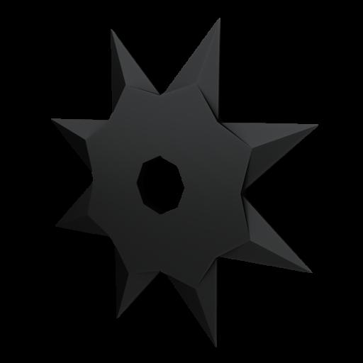 Shuriken 1 3D Model