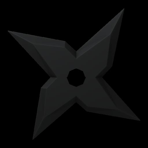Shuriken 2 3D Model